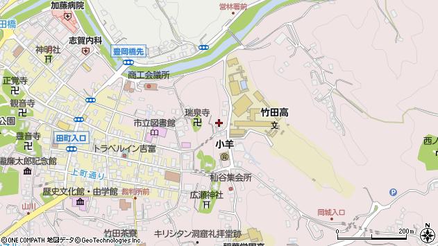大分県竹田市竹田2637周辺の地図