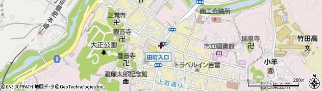 大分県竹田市竹田町498周辺の地図