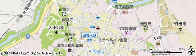 大分県竹田市竹田町284周辺の地図