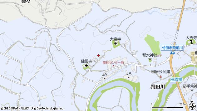 大分県竹田市飛田川2051周辺の地図