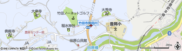 大分県竹田市飛田川1869周辺の地図