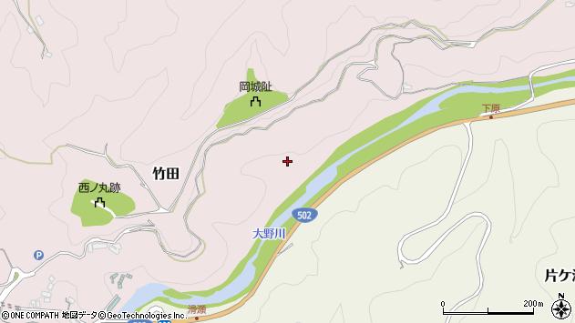 大分県竹田市竹田231周辺の地図