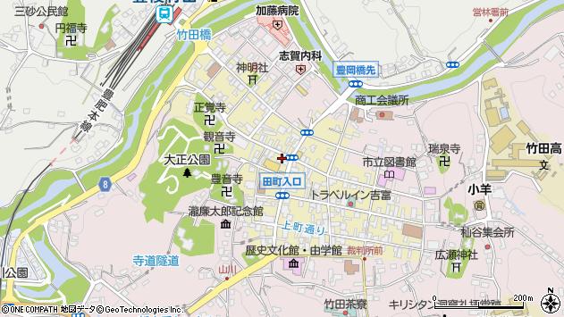 大分県竹田市竹田町500周辺の地図