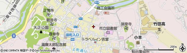 大分県竹田市竹田1970周辺の地図