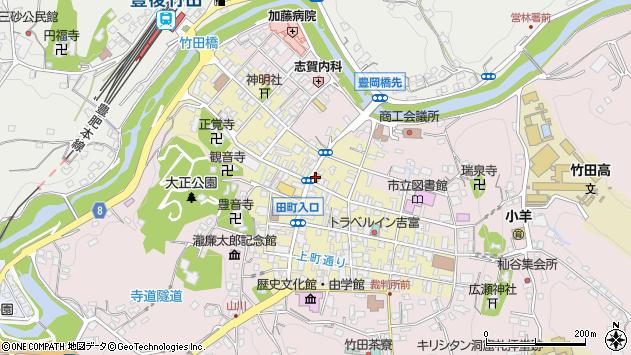 大分県竹田市竹田町368周辺の地図