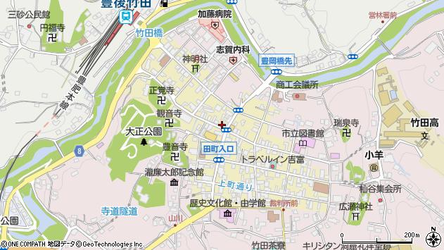 大分県竹田市竹田町519周辺の地図
