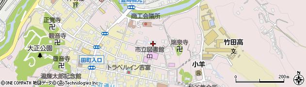 大分県竹田市竹田1961周辺の地図