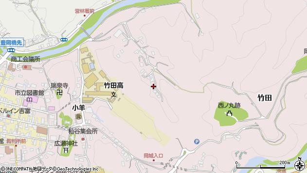 大分県竹田市竹田2738周辺の地図