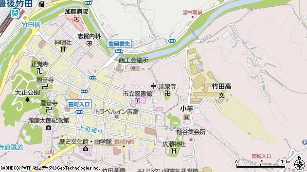 大分県竹田市竹田1956周辺の地図