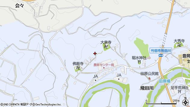 大分県竹田市飛田川2043周辺の地図