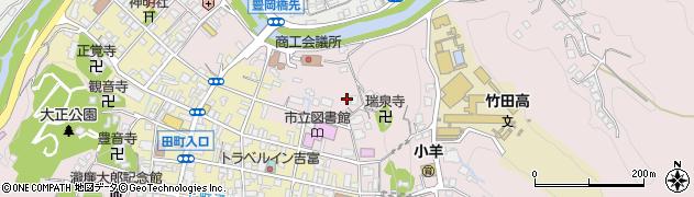 大分県竹田市竹田1955-2周辺の地図