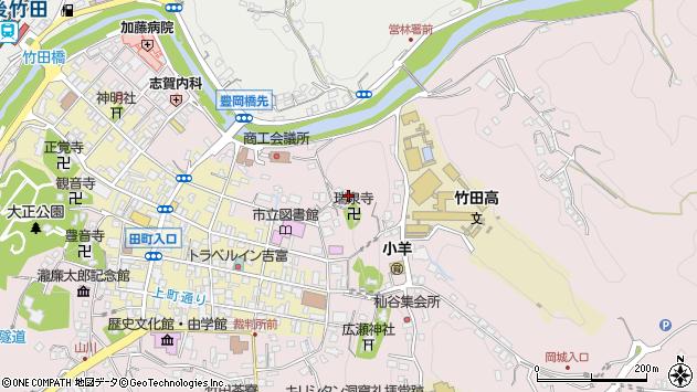 大分県竹田市竹田1943周辺の地図