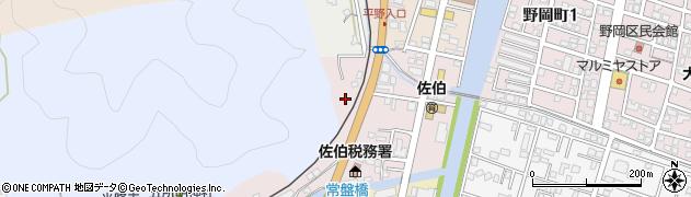 大分県佐伯市蟹田3周辺の地図