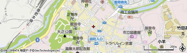 大分県竹田市竹田町517周辺の地図