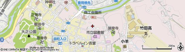 大分県竹田市竹田1962周辺の地図