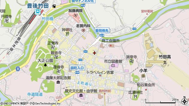 大分県竹田市竹田町356周辺の地図