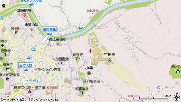 大分県竹田市竹田2641周辺の地図