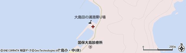 大分県佐伯市鶴見大字大島1035周辺の地図