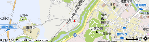 大分県竹田市会々2458周辺の地図