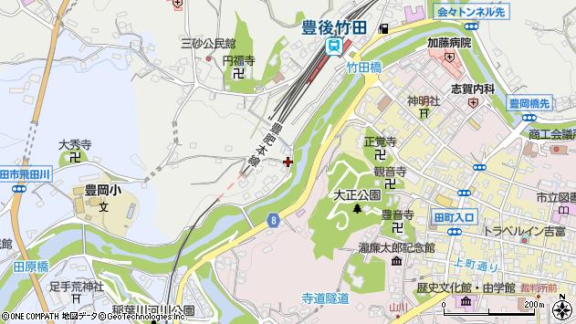 大分県竹田市会々2395周辺の地図