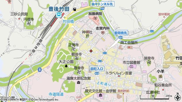 大分県竹田市竹田町532周辺の地図