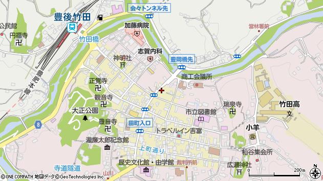 大分県竹田市竹田町346周辺の地図