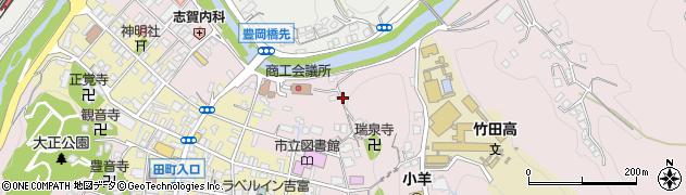 大分県竹田市竹田1950周辺の地図