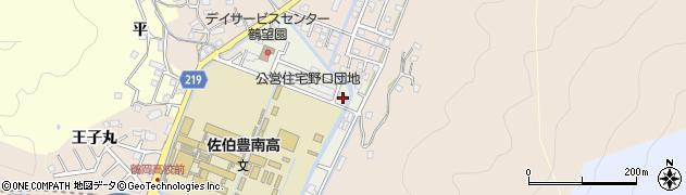 大分県佐伯市鶴望5172周辺の地図