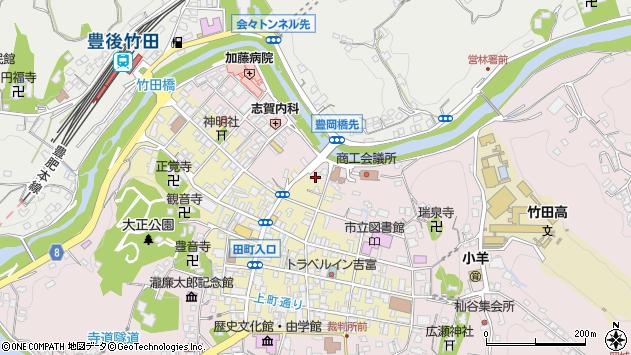大分県竹田市竹田1914周辺の地図
