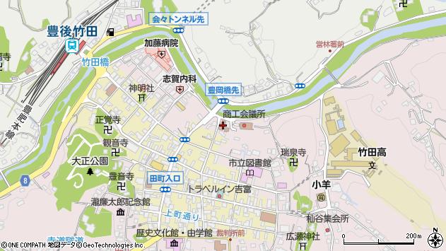 大分県竹田市竹田1918周辺の地図