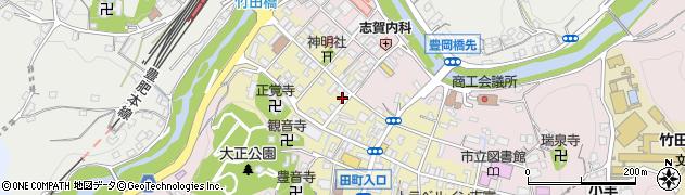 大分県竹田市竹田町594周辺の地図