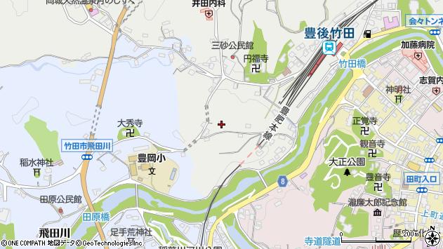 大分県竹田市会々2414周辺の地図
