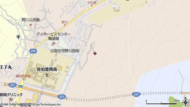 大分県佐伯市鶴望4150周辺の地図
