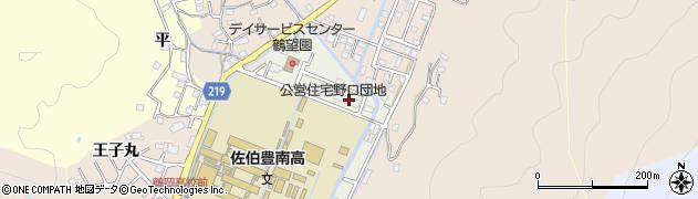 大分県佐伯市鶴望5158周辺の地図