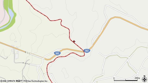 大分県竹田市片ケ瀬柄々周辺の地図