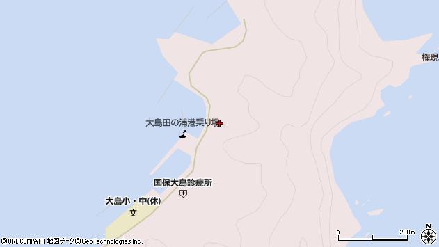 大分県佐伯市鶴見大字大島1051周辺の地図