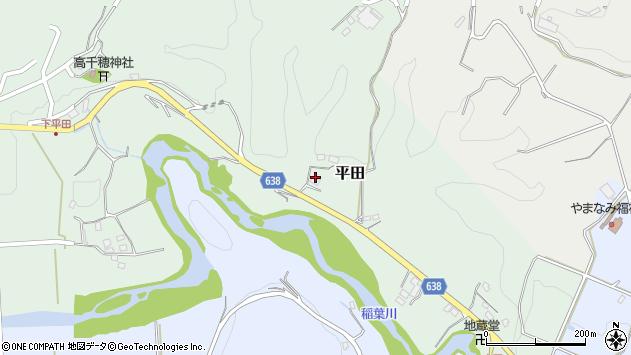 大分県竹田市平田174周辺の地図