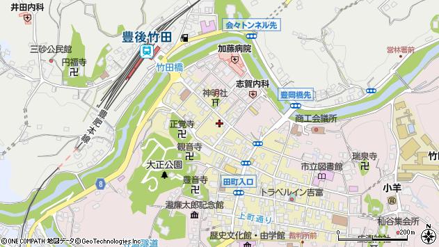 大分県竹田市竹田町590周辺の地図