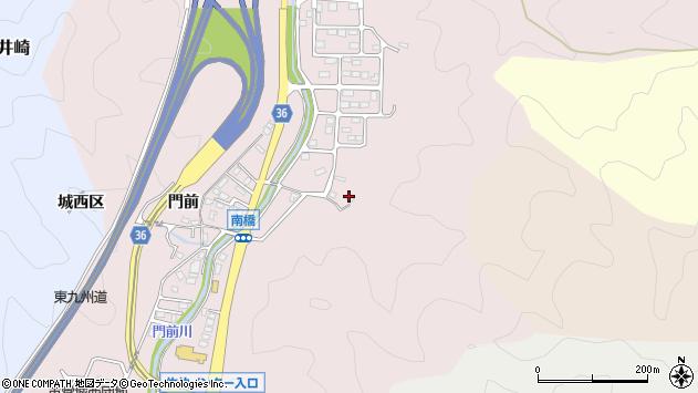 大分県佐伯市上岡3336周辺の地図