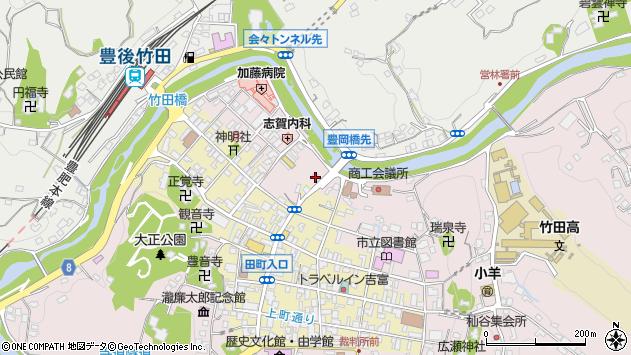 大分県竹田市竹田1906周辺の地図