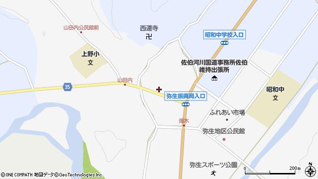 大分県佐伯市弥生大字上小倉627周辺の地図