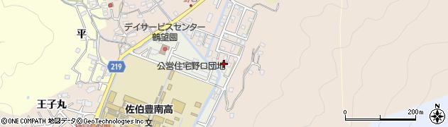 大分県佐伯市鶴望5194周辺の地図