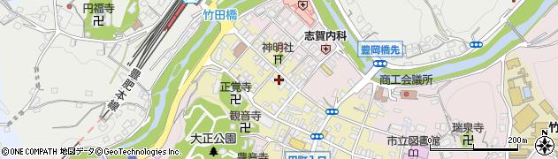 大分県竹田市竹田町587周辺の地図
