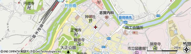 大分県竹田市竹田町545周辺の地図