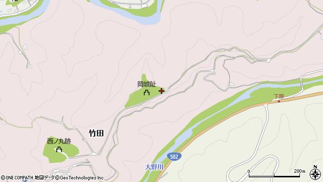 大分県竹田市竹田2912周辺の地図
