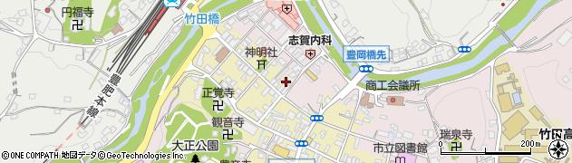 大分県竹田市竹田町543周辺の地図