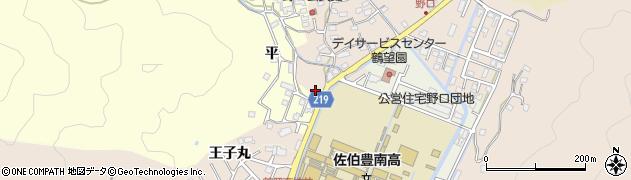 大分県佐伯市鶴望2962周辺の地図