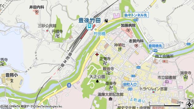 大分県竹田市竹田町1807周辺の地図