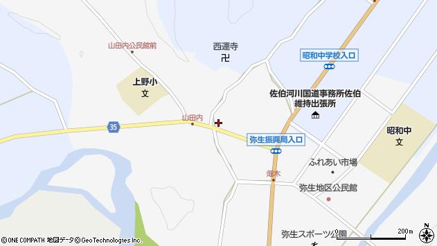 大分県佐伯市弥生大字上小倉651周辺の地図