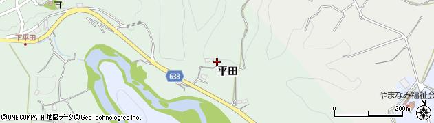大分県竹田市平田271周辺の地図